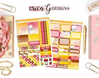 Base Kit (2 Sheets): Planner Girl Autumn