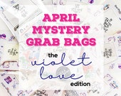 April 2018 MYSTERY GRAB BAGS | Planner Stickers | Mini Stickers | Stationery Goodies | Fantastic Value!