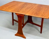 MidCentury GPlan Teak Drop Leaf Dining Table