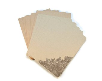Flat Note Cards, Mountain Climbers, Blank Note Cards, Stationery Set, Rustic Stationery, Thank You Cards, Thank You Notes, Blank Notes,
