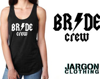 Rock N Roll Bridal Party Shirts