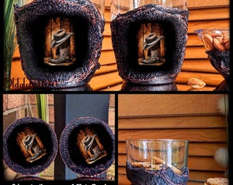 Cowboys Whiskey glassess Set~Western Gifts~Custom glasses set~Cowboys Boots glasses~Personalized glasses~Star Wars coaster~Anniversary gift