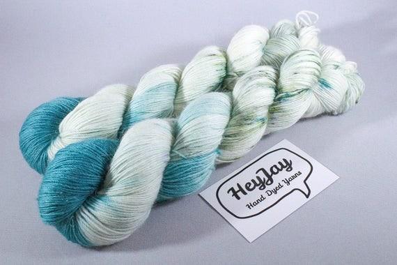 Hand Dyed Alpaca/Merino/Nylon Sock Yarn - No Probllama