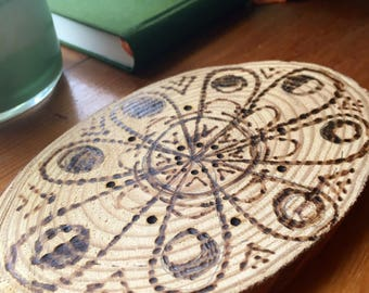 Complete Lunar Cycle Wood Burning