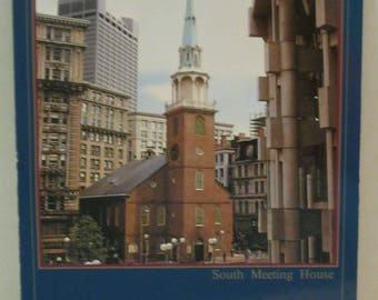 Boston The Old South Meeting House Postcard