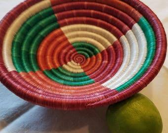 Woven Ugandan Bowl