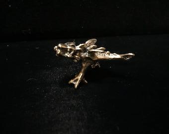 Original silicon bronze dragon sculpture by Daniel J. Riccio
