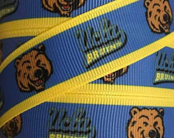"UCLA Bruins Dog Collar - Side Release Buckle (1"" Width) Martingale Option Available"