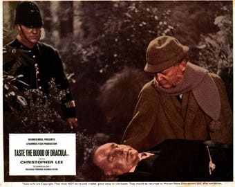 Taste The Blood Of Dracula – 1970 -  8 x 10 mini lobby card