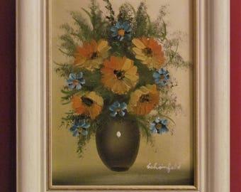 Summer bouquet. Oil Painting. Landscape. Original. Signed