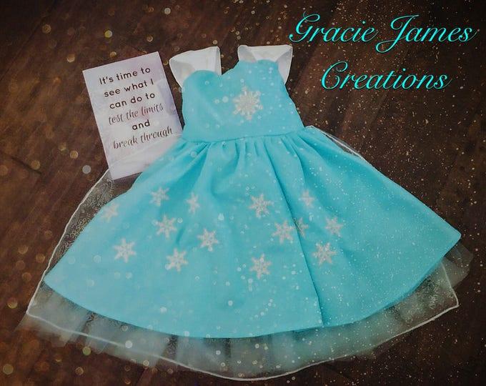Custom Elsa inspired Dress