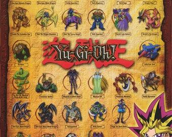Yu-Gi-Oh! Anime Manga Collage 1996 Rare Vintage Poster