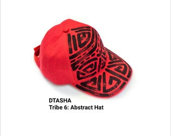 Abstract Hat//Hat//Red Hat