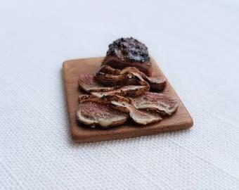 Roast on a board