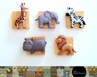 Safari Fridge Magnet Set