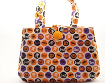 girls halloween pursehalloween bags comes in 2 sizes small 5 x - Halloween Handbag