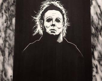 Michael Myers original artwork
