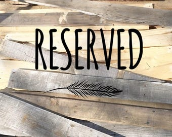Reserved: LAUREN