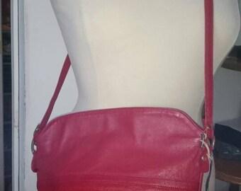 1980s Leather Crossbody