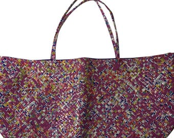 Large Yoga bag from Recycled juice boxes
