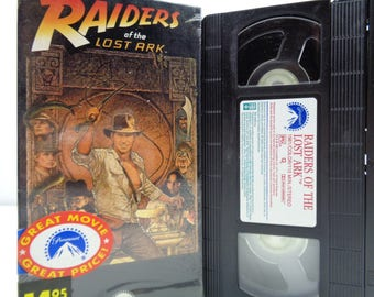 indiana jones and the Raiders of the lost ark VHS Tape