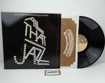 All That Jazz - Soundtrack - LP Record Excellent Condition