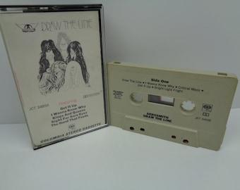Aerosmith Draw The Line Cassette