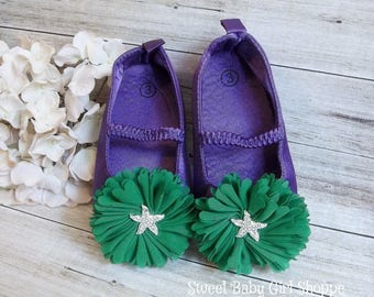 Mermaid First Birthday Outfit, Mermaid Shoes, Mermaid 1st Birthday Tutu, Mermaid 1st Birthday Outfit, Little Mermaid Birthday Outfit