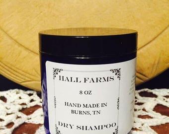 All natural dry shampoo
