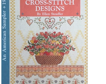 Country Cross-Stitch Designs Book (Vintage)