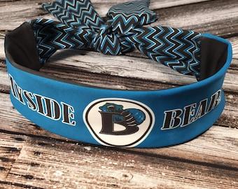 Tie Back Reversible Headband