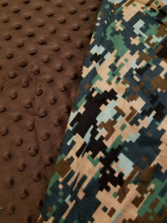 Camo, Weighted, Lap Pad/Small Blanket/Travel Weighted Blanket, 3 pounds,  14.5x22, Autism, SPD, PTSD, Small Weighted Blanket
