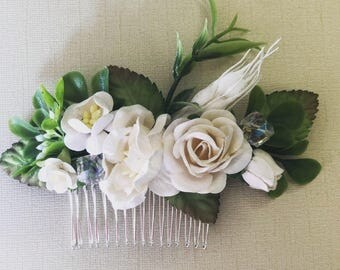 Wedding accessories . Paper Mulberry flowers