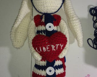 Old Fashioned Crochet Bunny