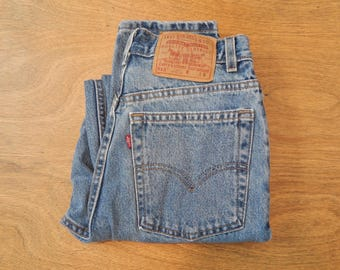 80s 90s Levis High Waisted Mom Jeans, Levi's 512 SIZE 27