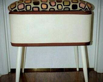 Modern Sewing Box/Bench Seat/Storage