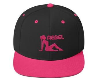 Rebel SnapBack hat
