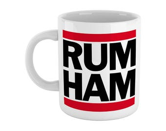 RUM HAM Mug - Funny Gift - Inspired by It's Always Sunny In Philidelphia (High Quality - Exclusive Gift)