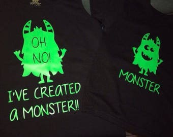 I've created a Monster T shirt