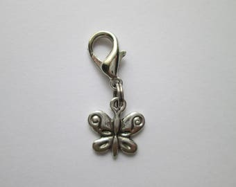 Butterfly pendant of charms charm bracelet back label - created for you