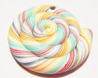 Fimo bead polymer clay lollipop charm original kawaii