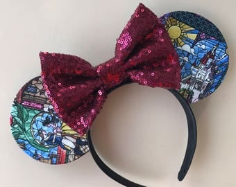 Stained Glass Window Ear Headband