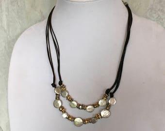 CHICO'S Necklace, Vintage Necklace, Silver Necklace, Statement Necklace, Chico's Jewelry, Necklace, Designer Jewelry, Necklace, CHICO