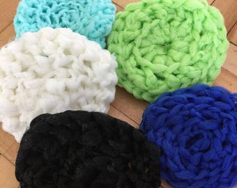 Soft net scrubbies bundle up and save !!! 4.00 each or 3 for 10.00