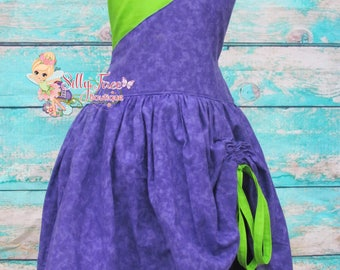 Custom Girls Descendants 2 Mal Birthday Party Dress Pageant Outfit