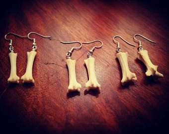 Fox Bone earings
