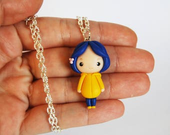 OUTLET! Sale! Coraline necklace without buttons in fimo