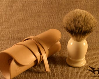 Shaving Brush Roll