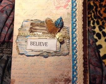 Tri Fold Junk Journal