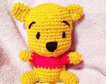 Crochet Winnie the Pooh Amigurumi Doll